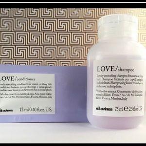 New LOVE Smoothing Shampoo & Bonus Conditioner